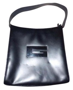 Gucci Chrome Hardware Top Handle Rare Vintage Style Square G Accent Modern And Chic Hobo Bag