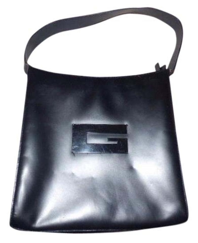 8b32b7db7b5 Gucci Chrome Hardware Top Handle Rare Vintage Style Square G Accent Modern  And Chic Hobo Bag ...