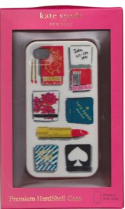 Kate Spade Kate Spade Hardshell Matchbook Lipstick iPhone 4/4S Case Cover