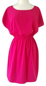Soprano short dress pink Buttons on Tradesy