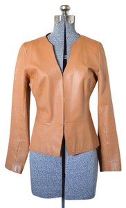 Banana Republic Leather Beige Tan Leather Jacket
