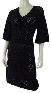 Tyler Boe short dress Black Crochet Pullover on Tradesy