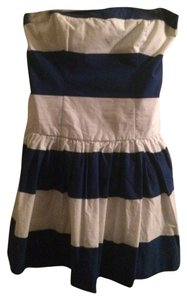 Abercrombie & Fitch short dress Blue And White Strips on Tradesy