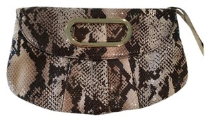 Magnes Sisters Convertible Snake Print Clutch