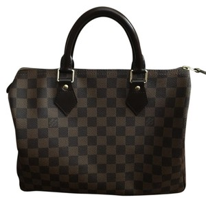 Louis Vuitton Loius Speedy 30 Satchel in Ebene