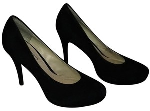 BCBG Paris Black Platforms