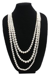 Chanel Tripple Strand Pearl Necklace Pearls of Dallas
