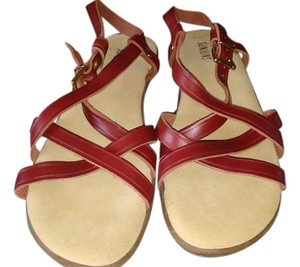 G.H. Bass & Co. Red Sandals