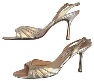Jimmy Choo Champagne Gold Formal