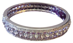 Camrose & Kross Simulated Diamond Engagement Bangle Bracelet
