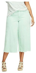 Lane Bryant Plus Size Cropped 22 Capri/Cropped Denim-Light Wash