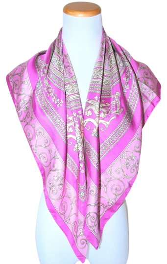Preload https://item3.tradesy.com/images/versace-pink-purple-silk-italy-square-multicolor-scarfwrap-1737022-0-0.jpg?width=440&height=440
