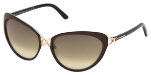 Tom Ford New Tom Ford sunglasses Shiny Rose Gold/gradient brown