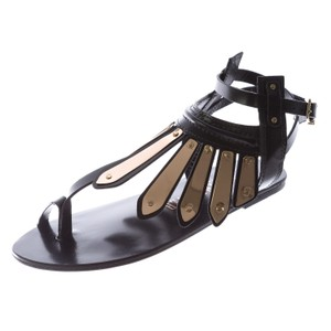 Ivy Kirzhner Womens Black Sandals