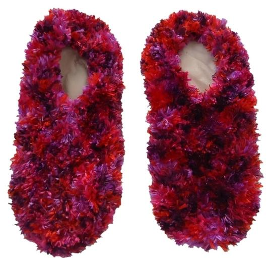 Preload https://item4.tradesy.com/images/bright-pink-hot-and-black-furry-slipper-socks-1737088-0-0.jpg?width=440&height=440