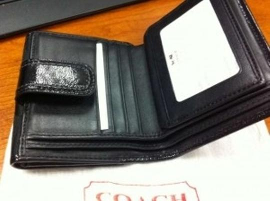 Coach Soho Pleated Signature French Purse Wallet