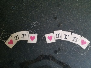 Mr. And Mrs. Sign