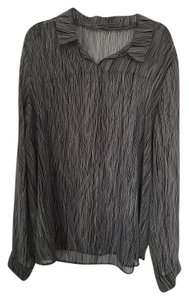 Ann Taylor Scoop Back Chic Classic Sheer Top