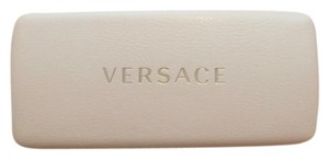 Versace Versace Sun Glasses Hard Case White with gold Versace