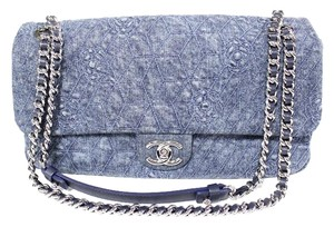 Chanel Denim Flap Shoulder Bag