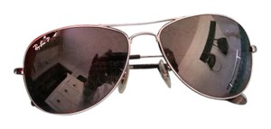 Ray-Ban Ray Ban Cockpit Aviator Style Sunglasses