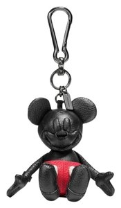 Coach DISNEY x COACH MICKEY BAG CHARM KEY RING CHAIN