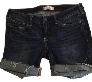 Hollister Cut Off Shorts Denim