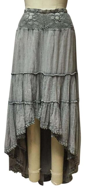 Item - Heather Grey Gypsy Broomstick Skirt Size 8 (M, 29, 30)