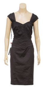 Tadashi short dress Black on Tradesy
