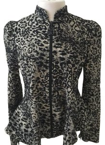 Betsey Johnson Animal print Blazer