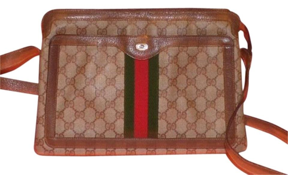 03479ea203a5 Gucci Accordion Bottom Multiple Compartment Accessory Col Roomy And  Practical Shoulder Bag Image 0 ...