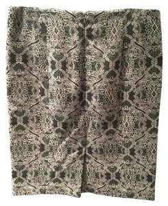 Talbots Skirt Green/White