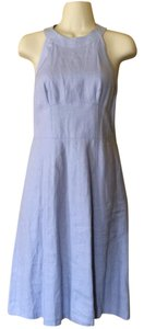 Ann Taylor LOFT short dress lilac Linen Summer on Tradesy