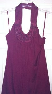 Preload https://item1.tradesy.com/images/the-limited-dark-red-night-out-top-size-petite-8-m-173750-0-0.jpg?width=400&height=650