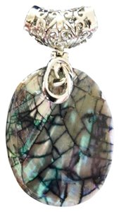 Independent Clothing Co. Abalone Shell Mosaic Pendant