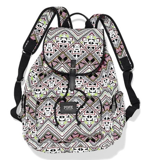 Preload https://img-static.tradesy.com/item/1737540/pink-victoria-s-secret-aztec-print-full-size-multi-color-canvas-backpack-0-0-540-540.jpg