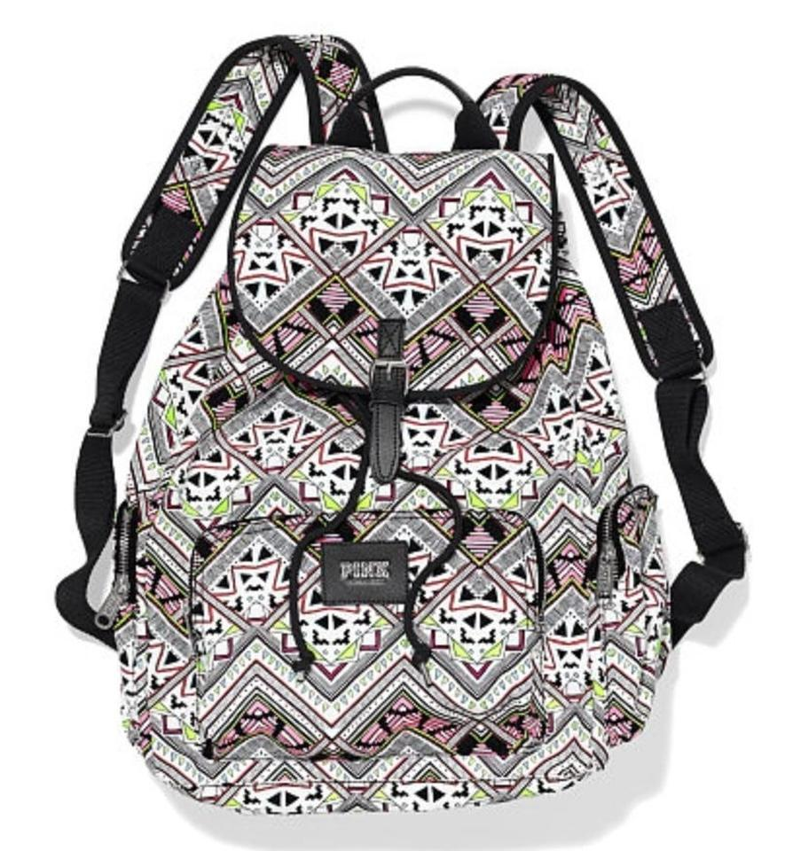 4e96536351 PINK Victoria s Secret Aztec Print Full-size Multi Color Canvas ...