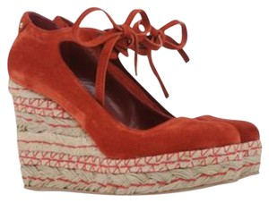 Sergio Rossi Reddish Brown Wedges