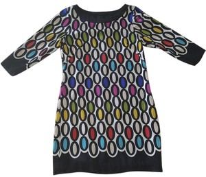 Trina Turk short dress Multicolor Shift Silk on Tradesy
