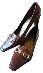 Nickels Cinnamon Brown Pumps