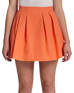 Alice + Olivia Mini Skirt Orange