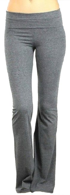 Item - Charcoal Gray New Yoga Lounge Sweat Large Activewear Bottoms Size 12 (L, 32, 33)