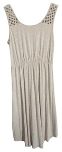 Cynthia Rowley short dress Cream Hi Lo Cotton Detail on Tradesy