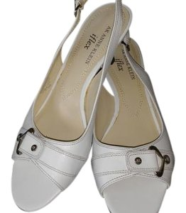 Anne Klein White Pumps