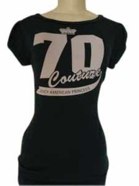 Preload https://item3.tradesy.com/images/juicy-couture-green-70-american-princess-tee-shirt-size-8-m-17377-0-0.jpg?width=400&height=650