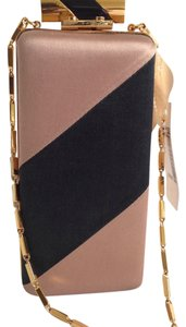 Lanvin Black-Brown Clutch