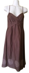 Ann Taylor LOFT short dress brown Boho Summer on Tradesy