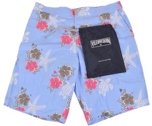 Vilebrequin Men's Board Board Shorts Blue