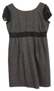 J.Crew Lace Wool Scoop Back Formal Dress