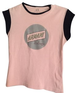 A|X Armani Exchange T Shirt Pink
